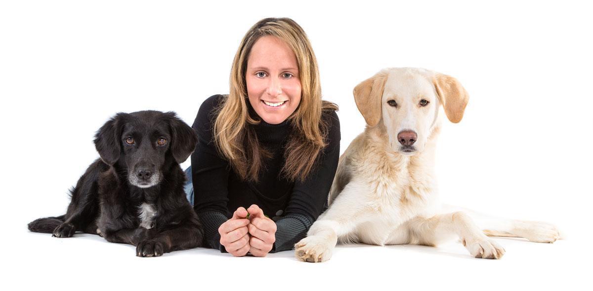 Hundephysiotherapeutin Sabrina Kemmner